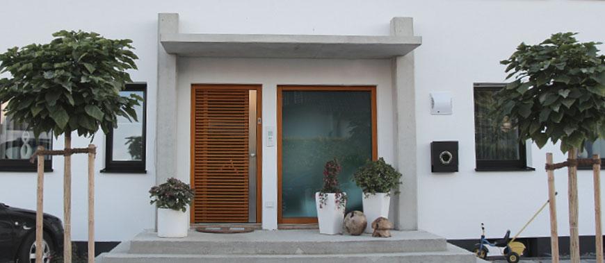 Eingangstüren modern  Aktuelles aus dem Türenwerk Westner - Türen Westner in Denkendorf